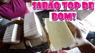 SABÃO CASEIRO DE LEITE COM LIMÃO