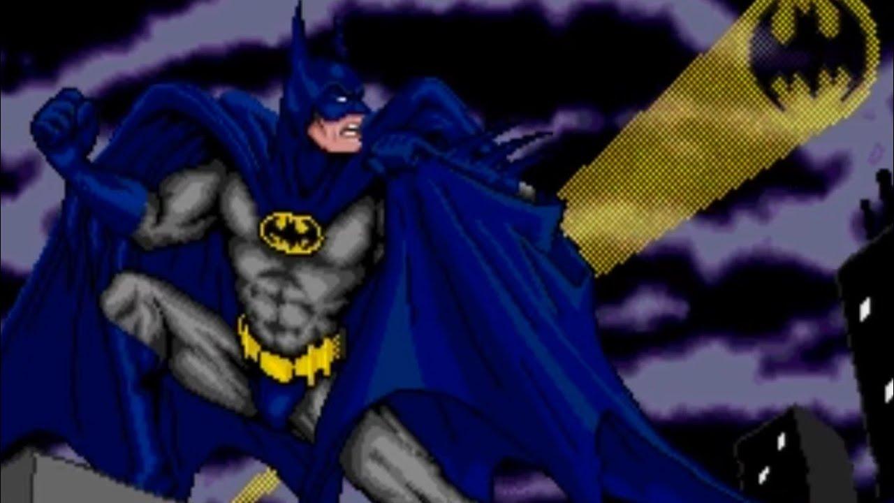 Batman Revenge Of The Joker Genesis Playthrough