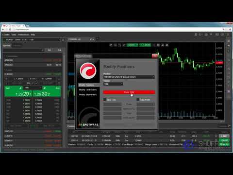 Shufflet Web cTrader Modify Orders / Positions Video Tutorial