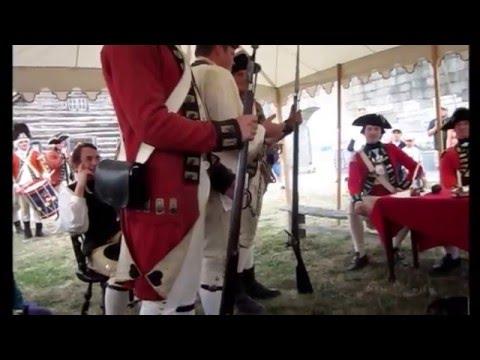 British Court-Martial Re-enactment at Historic Fort Niagara