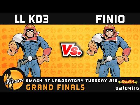S@LT #18 | [L] Finio (Falcon) vs [W] LL KD3 (Pink Falcon) - Grand Finals - SSB64