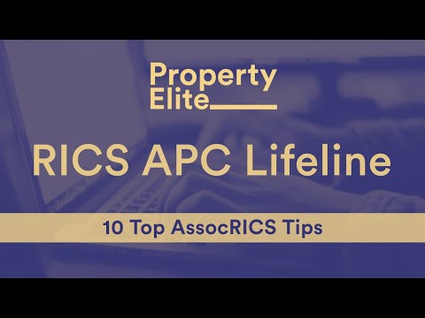 RICS AssocRICS Lifeline – 10 Top Tips to Ace Your AssocRICS
