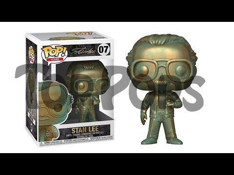 A Top Pops Exclusive Look at Patina Stan Lee and More!