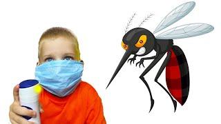 Мика и Папа против комаров в доме