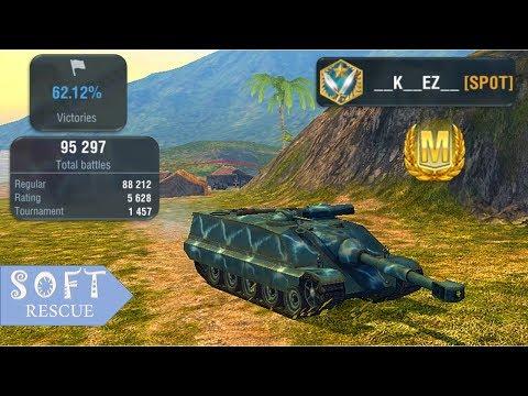 Foch 155: 8100 Damage , 4 Frags - WOT BLITZ -