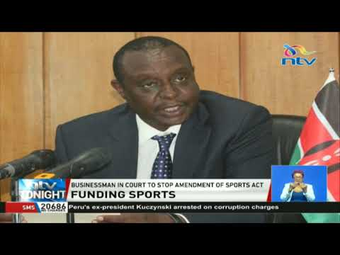 Businessman in court to stop amendment of Sports Act