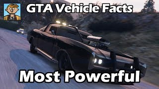 Most Powerful Engines - GTA 5 Vehicle Facts Countdown