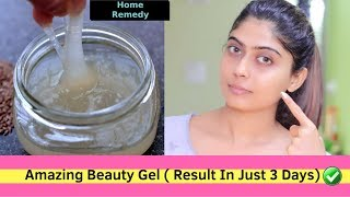 Do this 15 mins Every Morning & look 18 years old | Skin Tightening Face Mask Anti Aging Gel