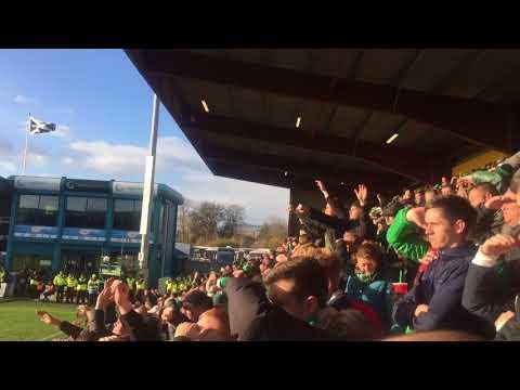 Celtic Fans | Mikael Lustig Song | Celtic vs Ross County