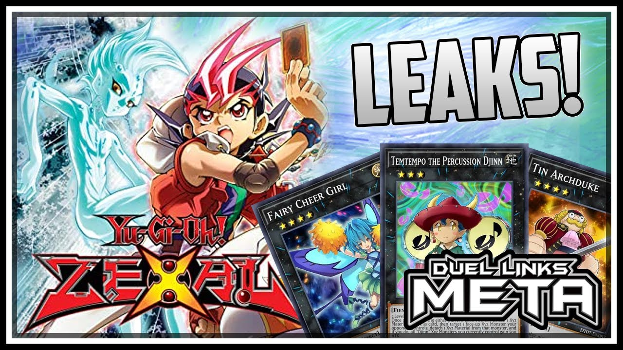 Zexal Release Leaks! New World, Characters and Cards Review!! [Yu-Gi-Oh! Duel Links]