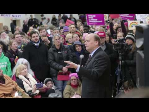 Tom Reed Ithaca town hall Q&A - March 11, 2017