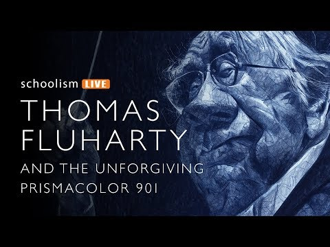 Thomas Fluharty and the Unforgiving Prismacolor 901