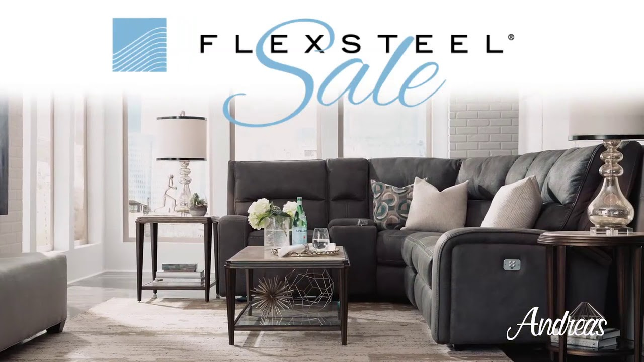 Andreas Furniture September 2017 Flexsteel Sale