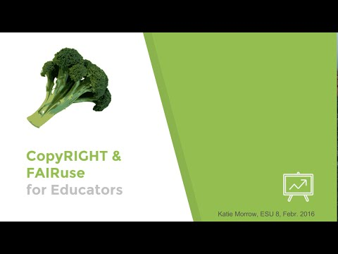 CopyRIGHT and FAIRuse for Educators