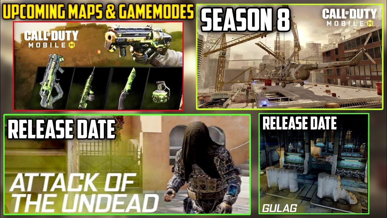 Season 8 Upcoming Map Cod Mobile New Upcoming Maps Modes Call Of Duty Mobile Cod Mobile Leaks Youtube