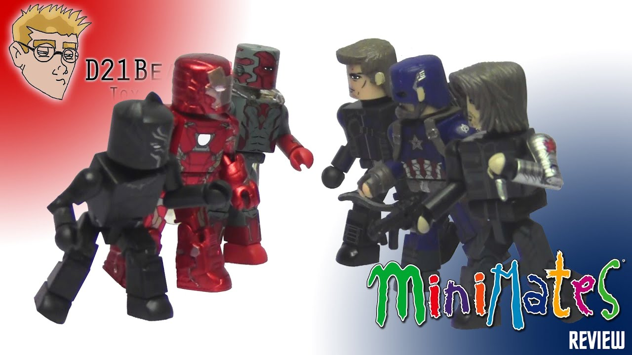 Marvel Minimates TRU Toys R Us Captain America Civil War Movie Vision