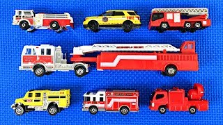 Fire Trucks for Kids | Learn Fire Truck Names & Colors | Fun & Educational by Organic Learning