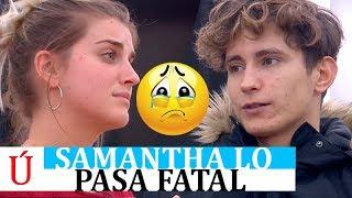 Samantha se derrumba, ¿por culpa de Nick? Le hacen el vacío y lo está pasando muy mal