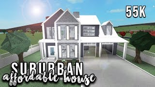 Roblox | Welcome to Bloxburg: Affordable Suburban House | Speedbuild