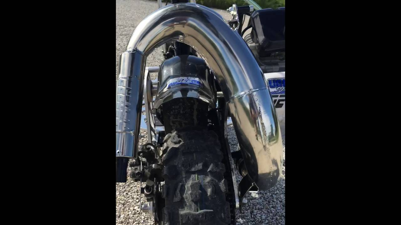 Jet pro expansion chamber/muffler/pipe tuned