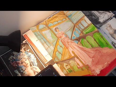 Art  Nouveau Study