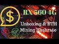MSI Radeon RX 560 AERO ITX 4G OC Unboxing & ETH Mining Hashrate