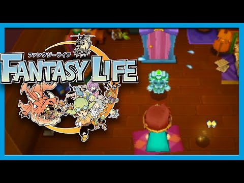 Fantasy Life Origin Island DLC Part 1 Gameplay Walkthrough w/ Voltsy