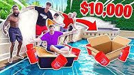 Last to Sink Wins $10,000 - 2HYPE DIY BOAT CHALLENGE!