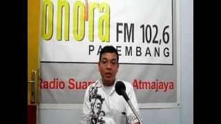 Mengapa Radio Sonora Palembang banyak pendengarnya bersama Station Manager Sonora Plg.
