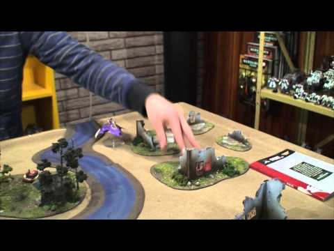 TBMC - HD Video Batrep - 1500 Dark Eldar vs Blood Angels