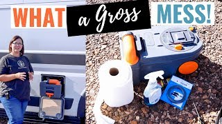 How To Replace Thetford Cassette Toilet Seal Hymer CamperVan