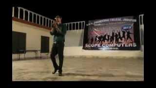 be intehaa atif aslam karaoke by jeet (FAREWELL performance)