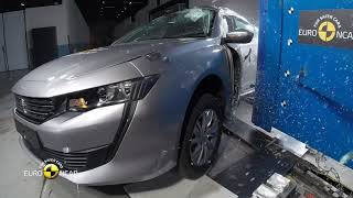 Euro NCAP Crash Test of Peugeot 508