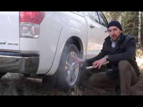 Тойота Тундра на природном газе (метане)