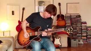 1988 Gibson ES-335 DOT, sunburst, Part2