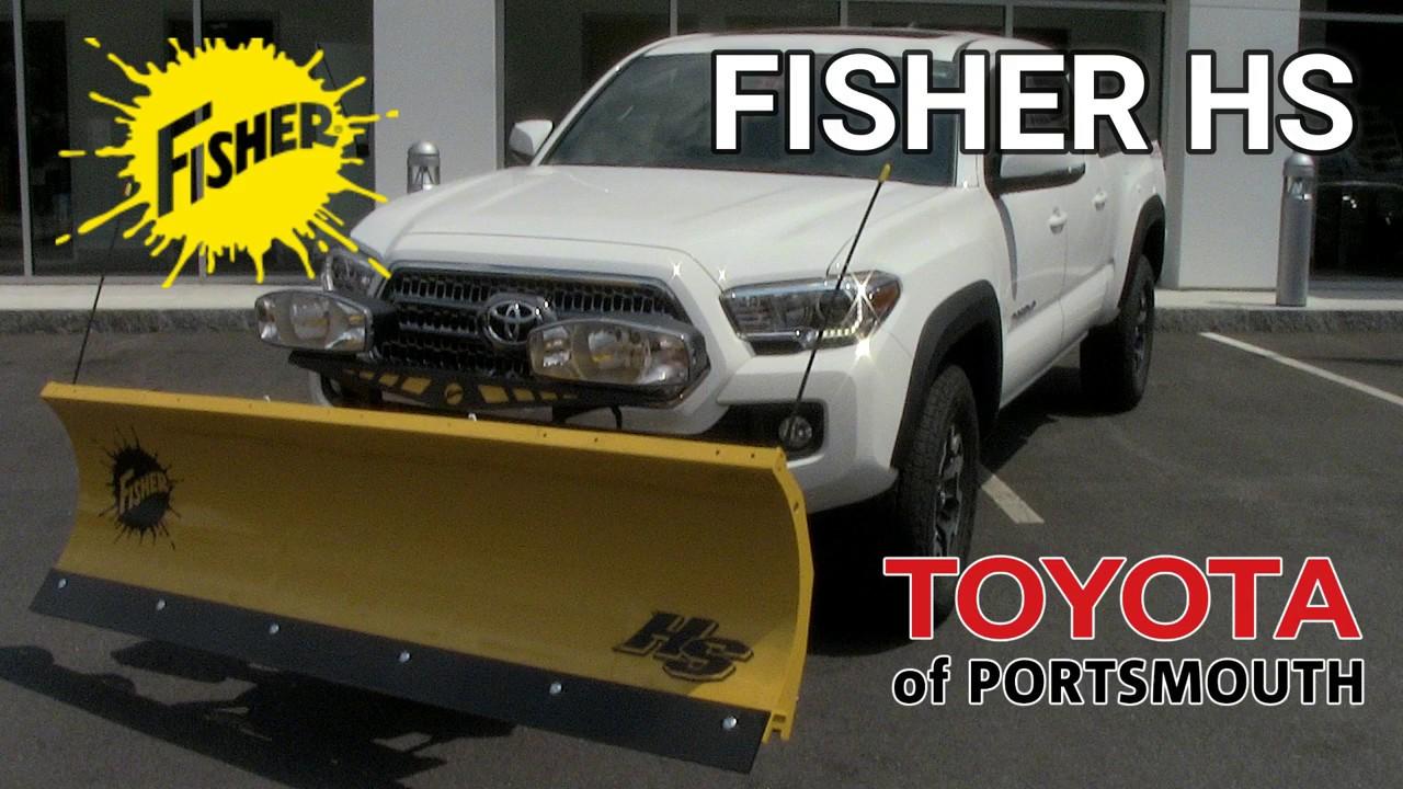 Lightweight Plows Toyota Tacoma