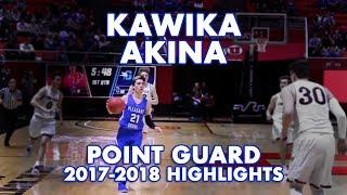 Kawika Akina, Point Guard Pleasant Grove HS, Utah Junior Year Highl...