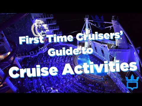 First-Timers' Guide to Cruise Ship Activities