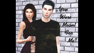 """Sims 4  сериал """"You were meant for me"""" 1 серия"""