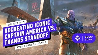 Thanos Creator on Avengers: Endgame Recreating Iconic Captain America Standoff - Comic Con 2019