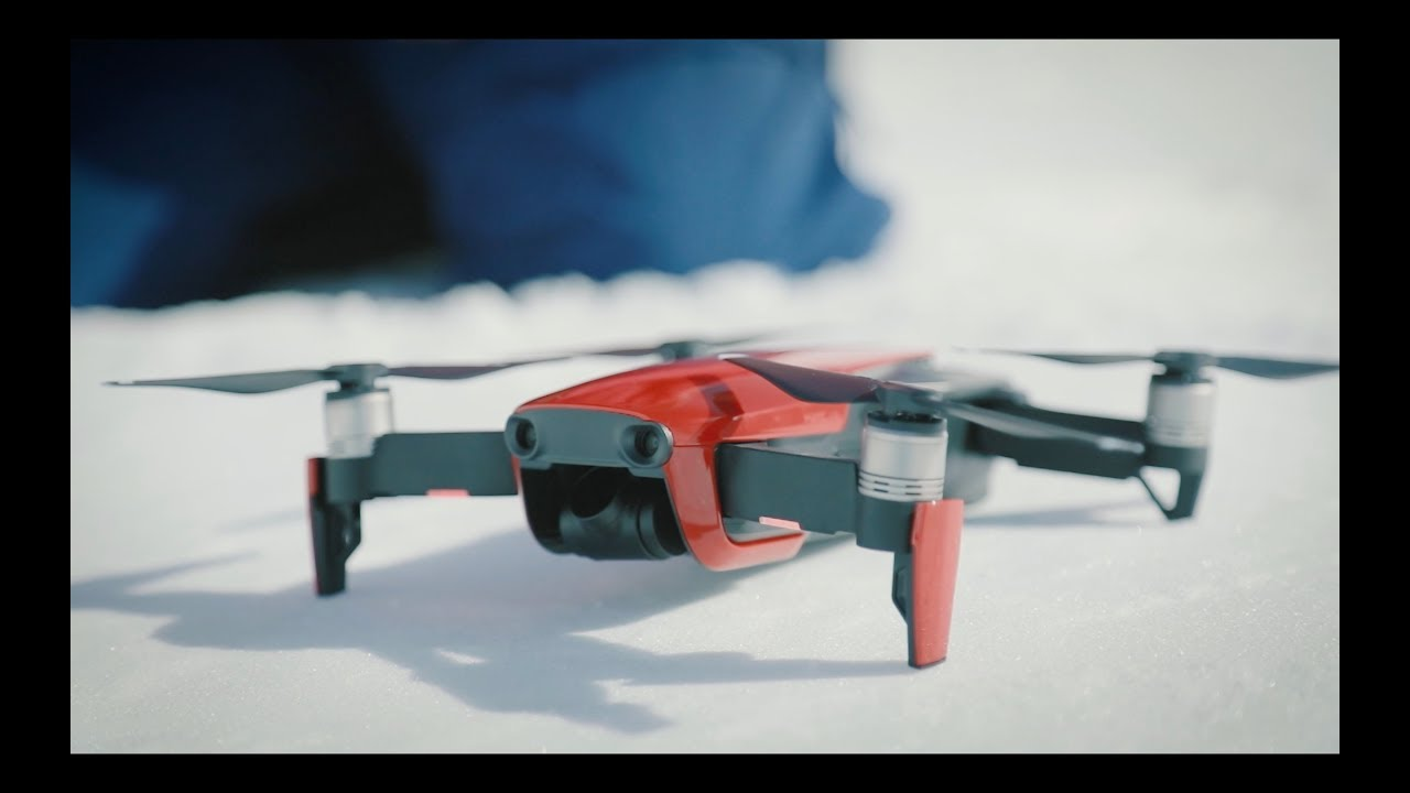 THE NORTH FACE & DJI - メイキング映像「EXPLORING A DIFFERENT ANGLE」