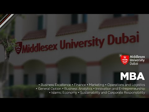 Master of Business Administration (MBA) | Middlesex University in Dubai