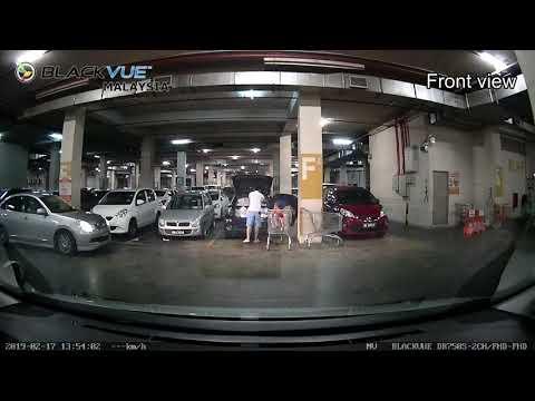 Blackvue DR750S-2CH Time Lapse Parking Mode Sample Video Front & Back