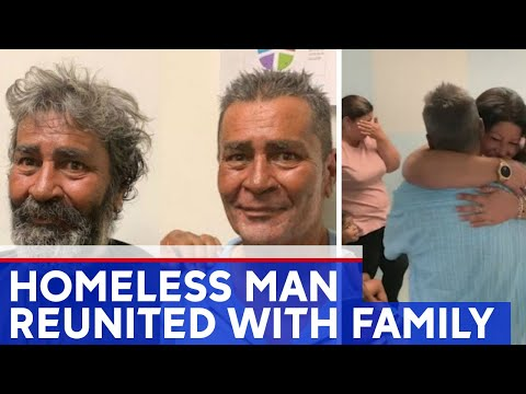 The Morning Rush - Officer reunites homeless man with family after 22 years