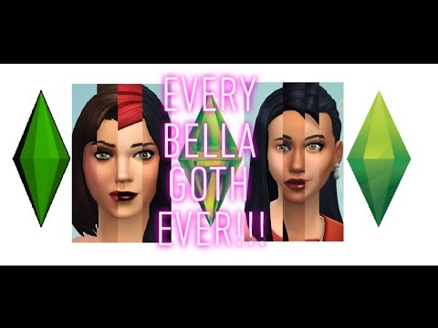 Bella Goth Remade From The Sims 1 | The Sims 2 | The Sims 3 | The Sims 4 | The Sims 5