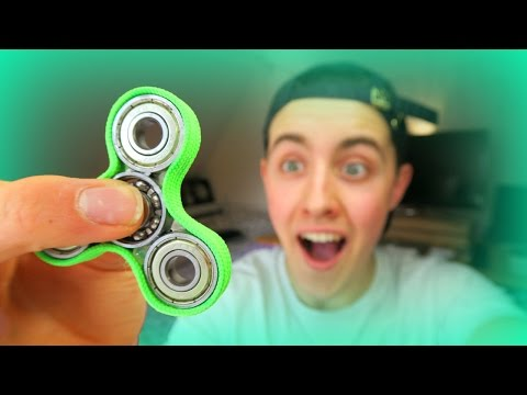 HOW TO MAKE A FIDGET SPINNER TOY ( SUPER EASY AND FOR FREE! )