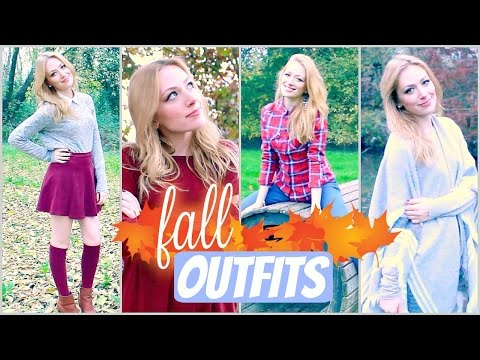 4 OUTFIT per l'AUTUNNO (fall lookbook) ♡