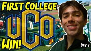 MY FIRST COLLEGE BASEBALL WIN! (Stephen Knez)