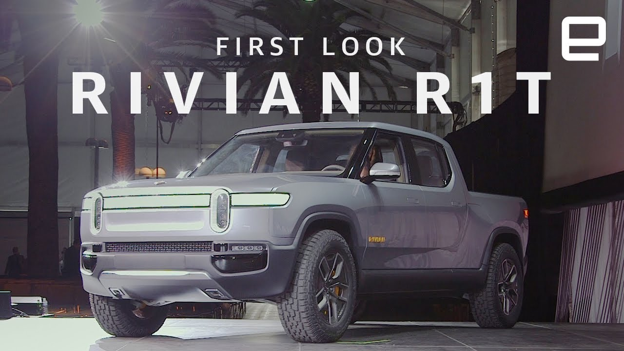 Rivian R1t First Look Trucks Go Electric Youtube
