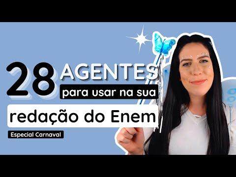 Carnaval de agentes pra proposta de intervenção